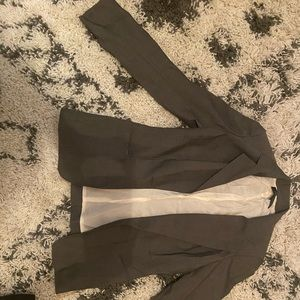Anne Klein Greyish/Brwn almost Jean colored Blazer
